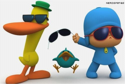Pocoyo dançando Gangnam Style