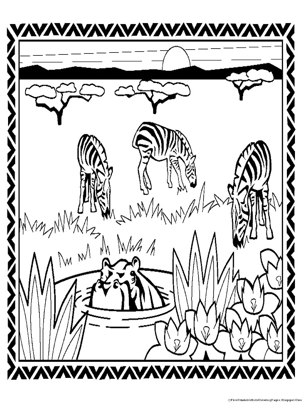 for your coloring activity paint this zebra printable coloring pages title=