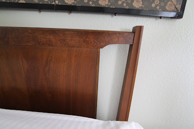 Queen size headboard,  Lenoir House a Division of Broyhill