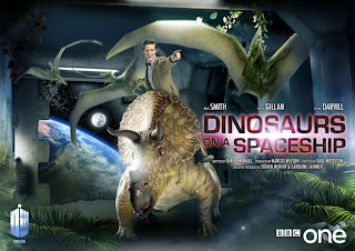 Doctor Who Season 7 Dinosaurs on a Spaceship