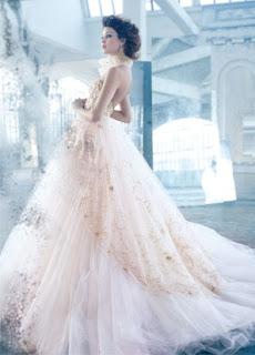 اشيك فساتين زفاف اوروبية موضة 2014