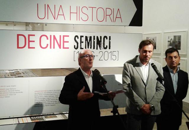 """Inaugurada en Valladolid la exposición """"SEMINCI: Una historia de cine (1956-2015)"""""""