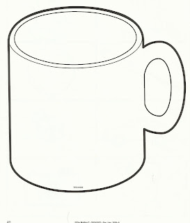 hot chocolate mug coloring page free coloring pages for fall leaves