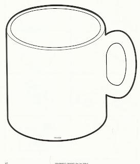 Hot Chocolate Mug Template Printable