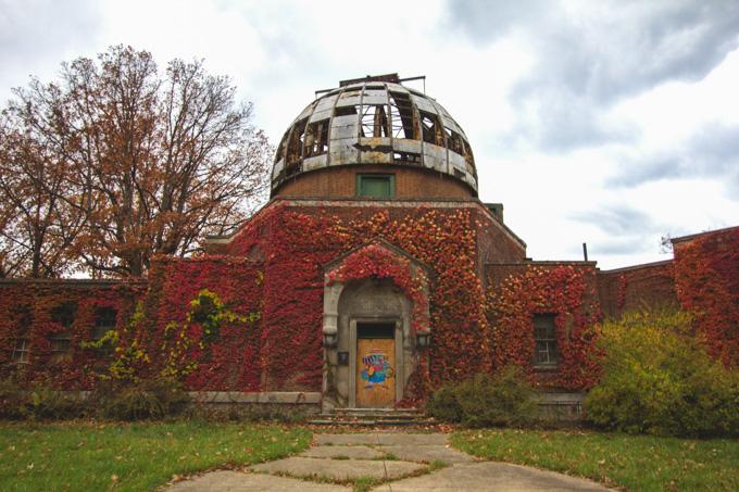 observatory, cleveland, abadoned