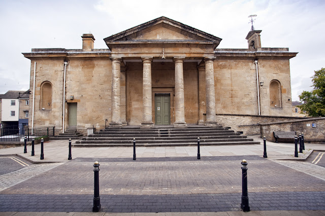 The impressive Town Hall at Chipping Norton by Martyn Ferry Photography