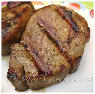 Médaillons de porc cari et gingembre
