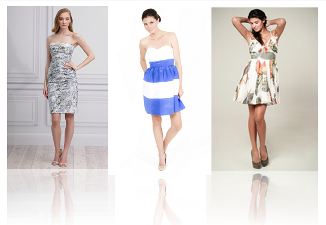FLORALS, STRIPES and PRINTS, OH MY!! | Bella Bridesmaids
