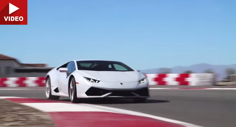 The Sound And The Fury Lamborghini Huracan Goes Flat Out On The Track