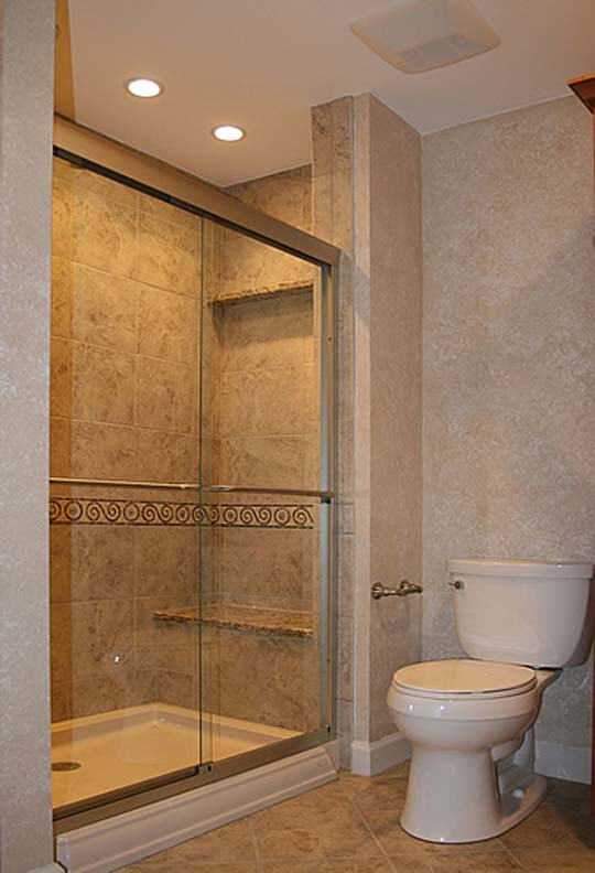 Bathroom design ideas for small bathrooms for Bathroom remodel images