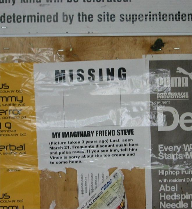 30 Funny Lost and Found Signs, funny missing signs, funny missing posters, funniest lost and found poster, creative lost and found flyers