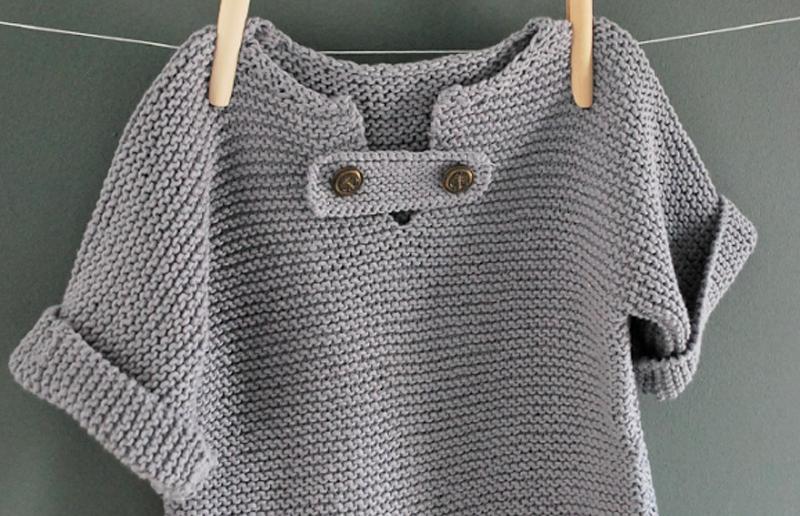 modele tricot fillette 4 ans