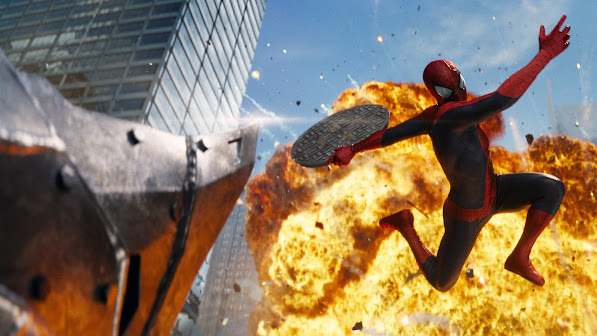 The Amazing Spider Man 2 Rhino 1m