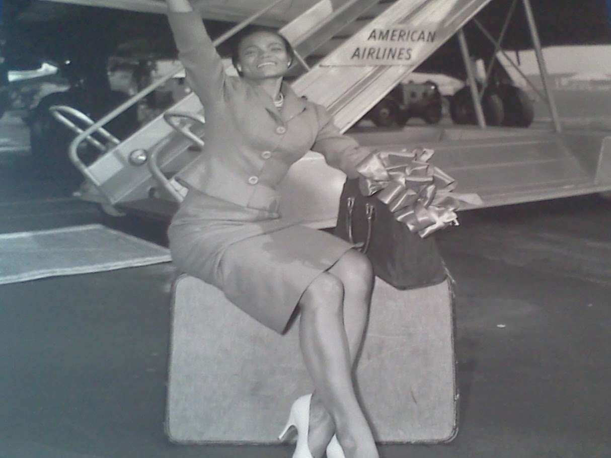 Eartha Kitt flew on American Airlines C.R. Museum