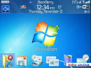 Windows 7 - BlackBerry Theme