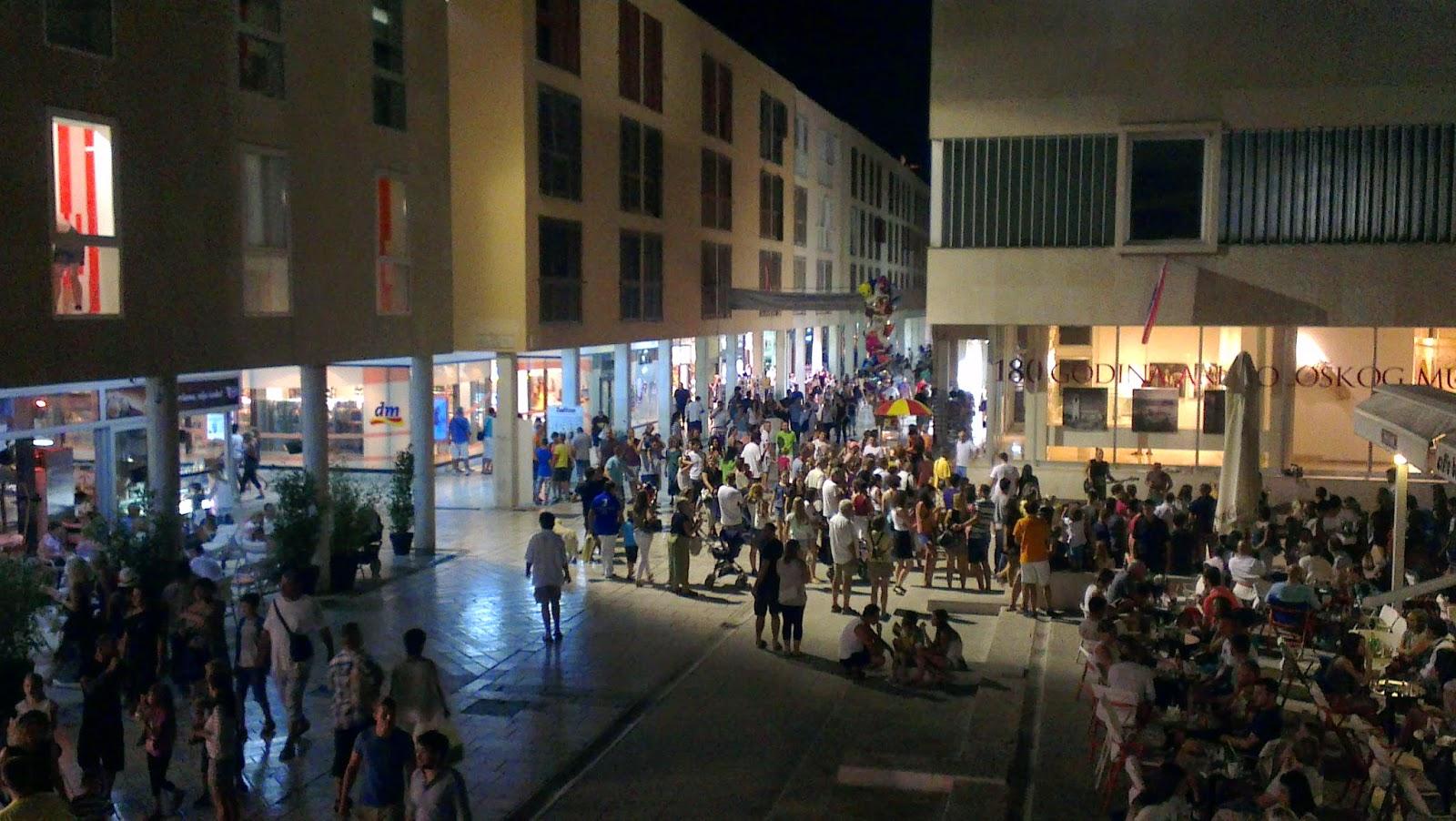 Zara - Zadar wieczorową porą