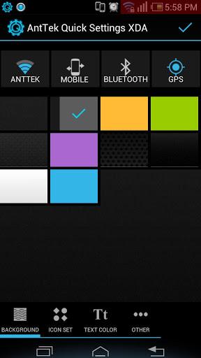 cara memunculkan anttek quick settings hampir sama dengan cara ...