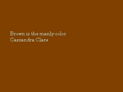 Brown Color Quotes