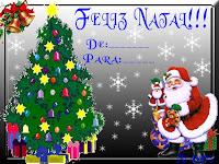 Cartão de Natal 2013: Modelos Grátis para imprimir - De - Para