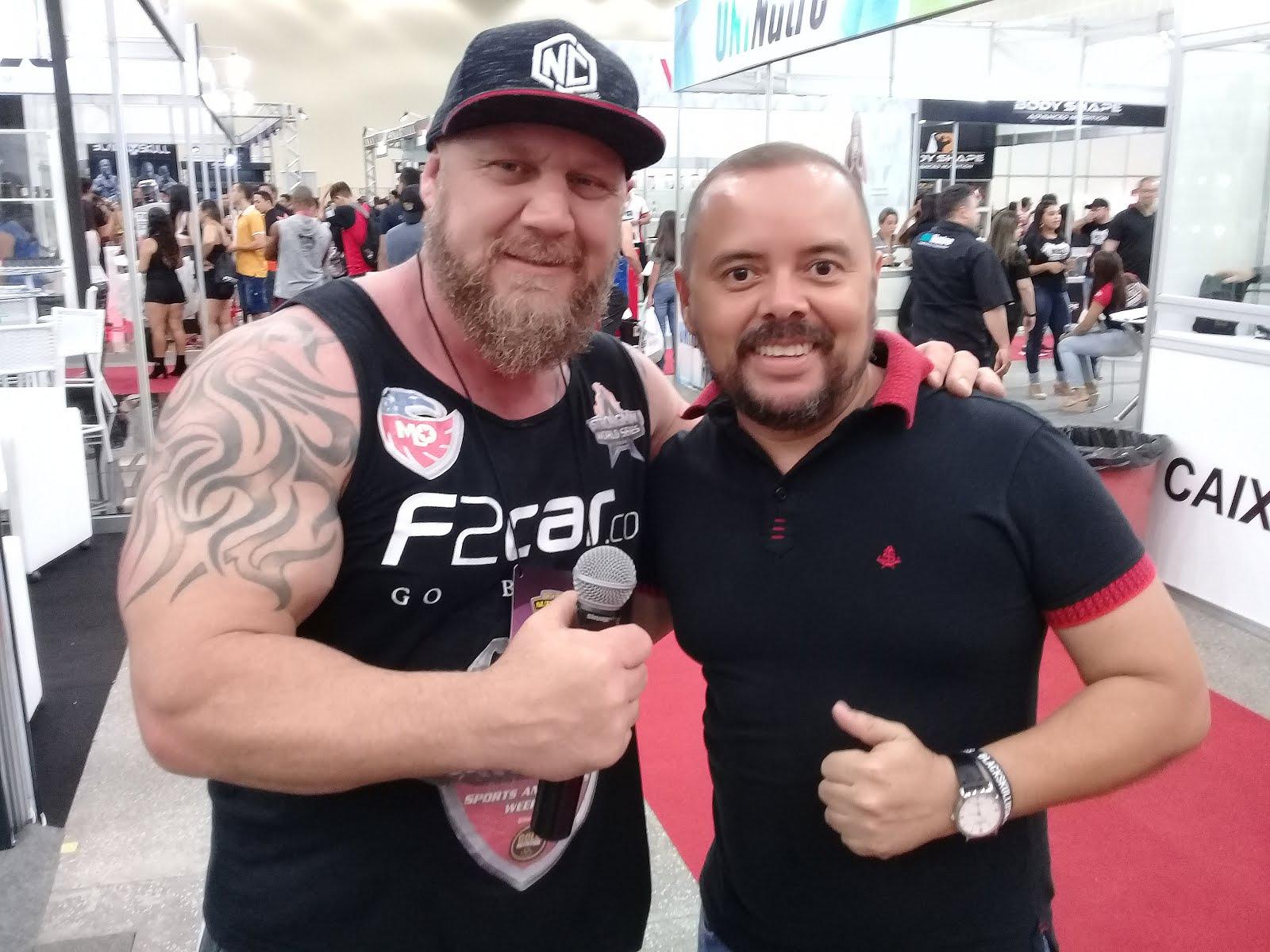 O apresentador e atleta Marcos Ferrari