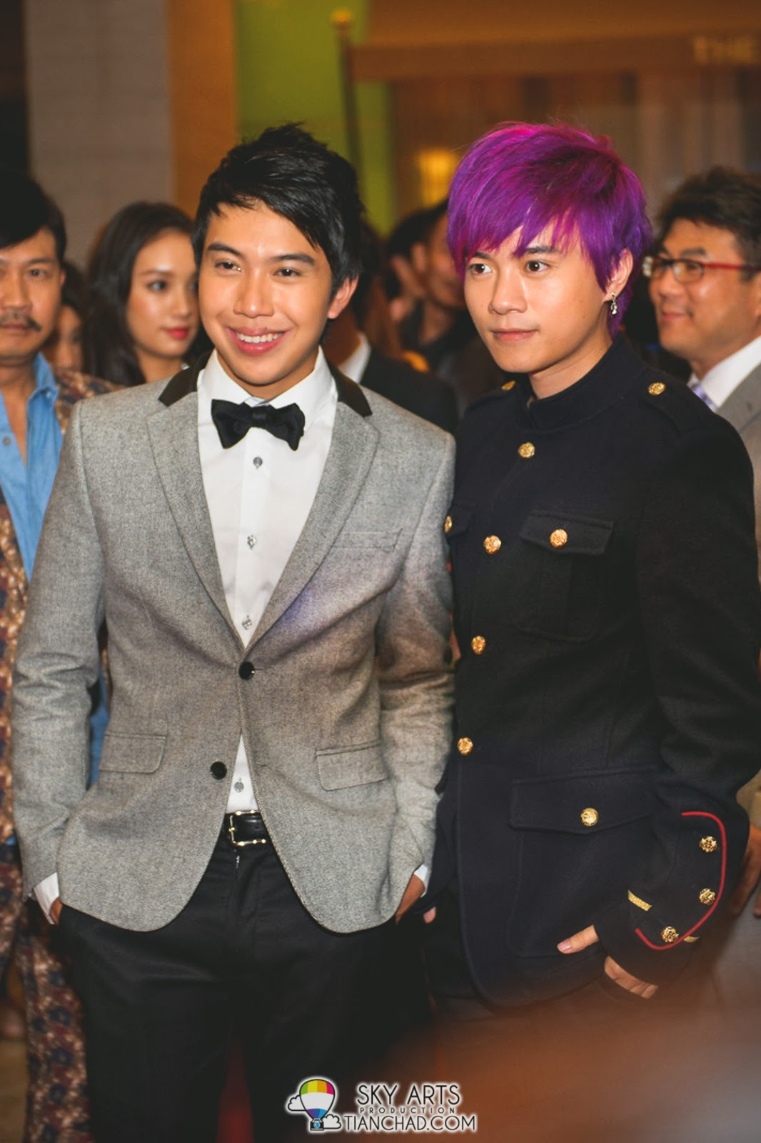 Charlie Goh 吴清樑 and Bao Er Cong 包尔琮