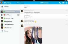 Compartir imágenes de Skype en iPad e iPhone