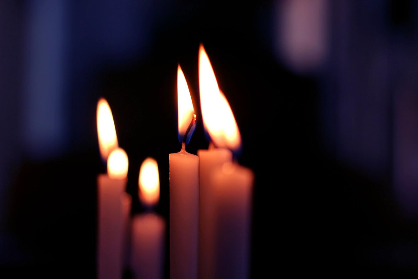 Μυστικό για να μην στάζουν τα κεριά
