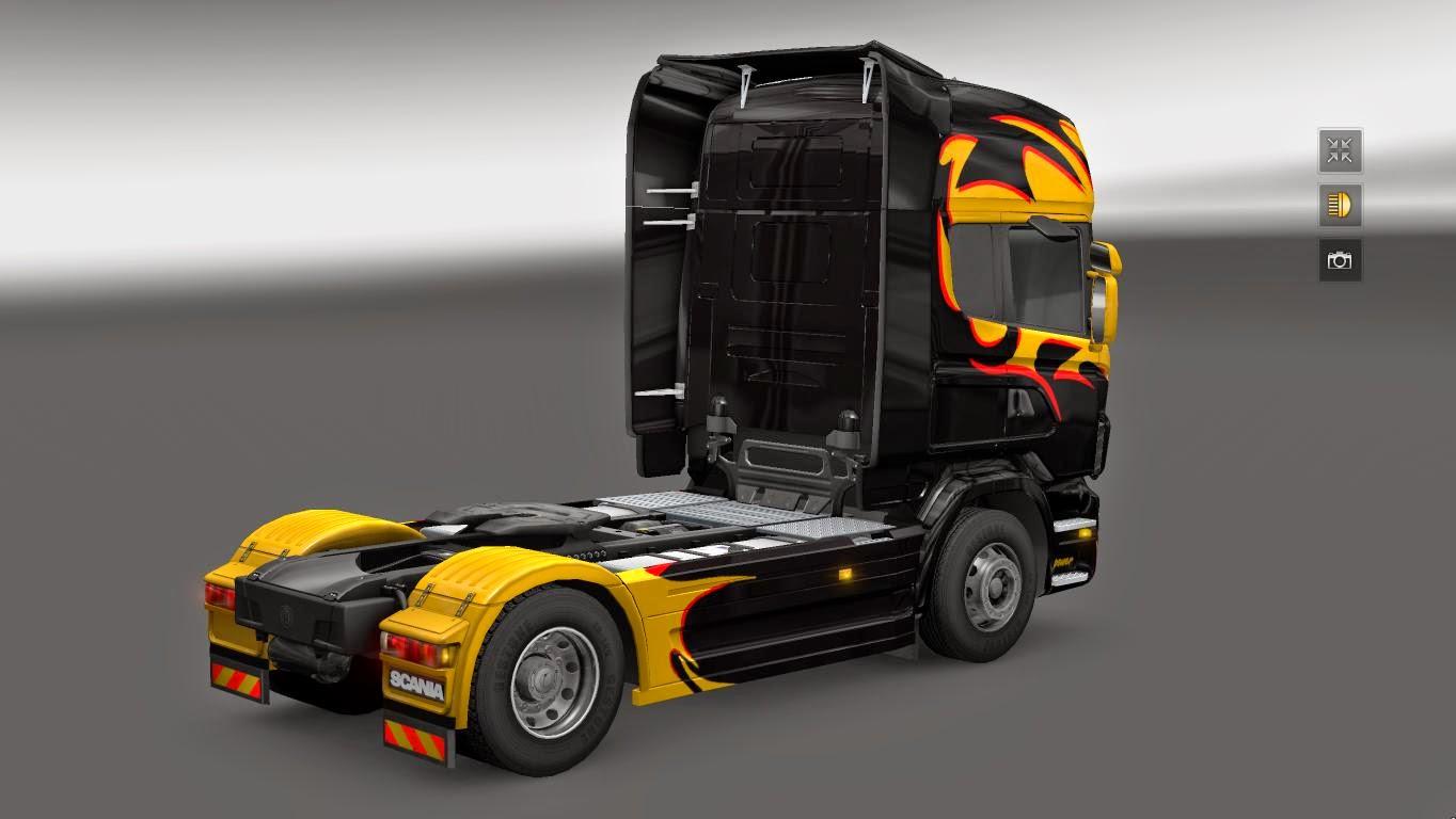 Skin Nielsen Scania R Para V 1 16 X By Ghass72 Blog