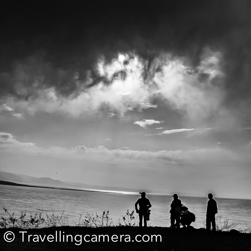 Birders around Wetlands of Pong dam lake in Kangra, Himachal Pradesh
