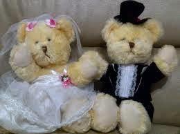 Boneka teddy bear berpasangan lucu