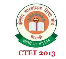 CBSE CTET Answer Key 2013 Answer Key