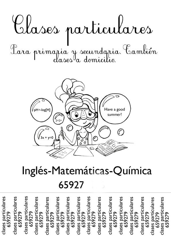 Sachapinta.com: Cartel para clases particulares