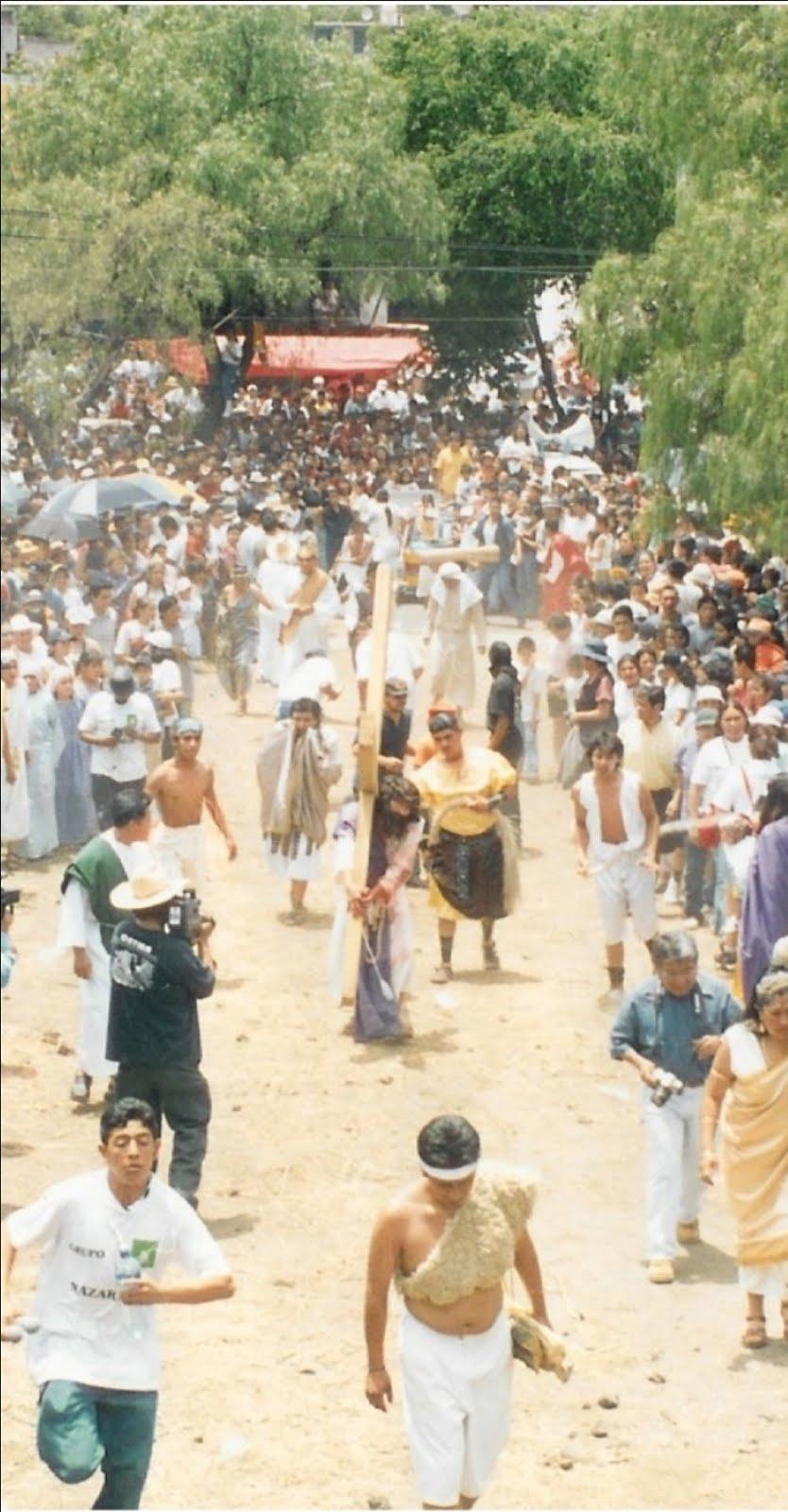Semana Santa en Tecómitl