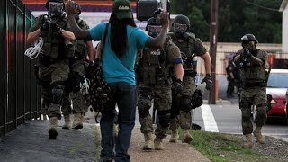 Military Occupation Of Ferguson