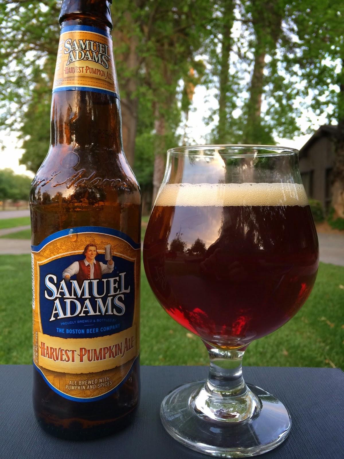 Samuel Adams Pumpkin Ale 1