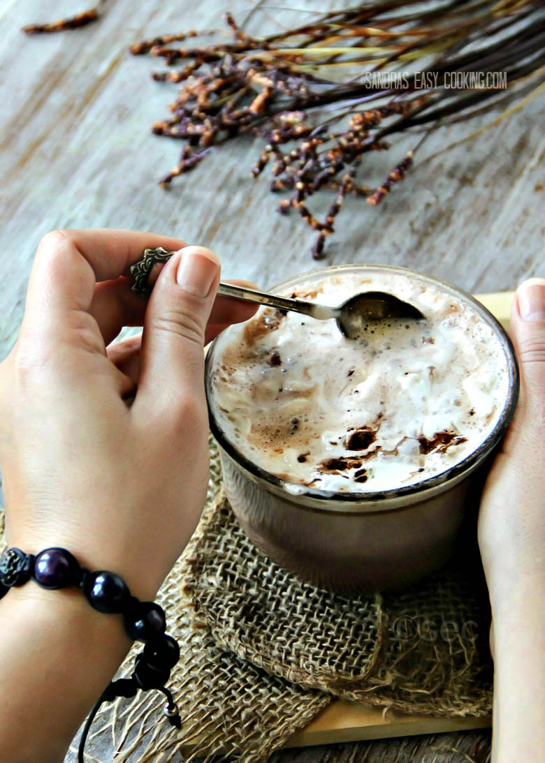 Nutella Cafe Latte #homemade #recipes