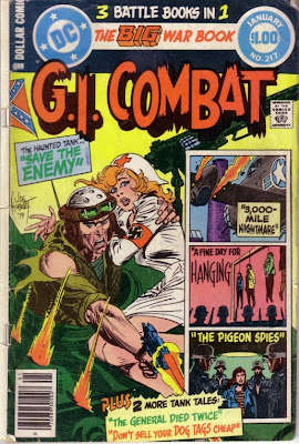 Cover of G.I. Combat #217 from DC Comics