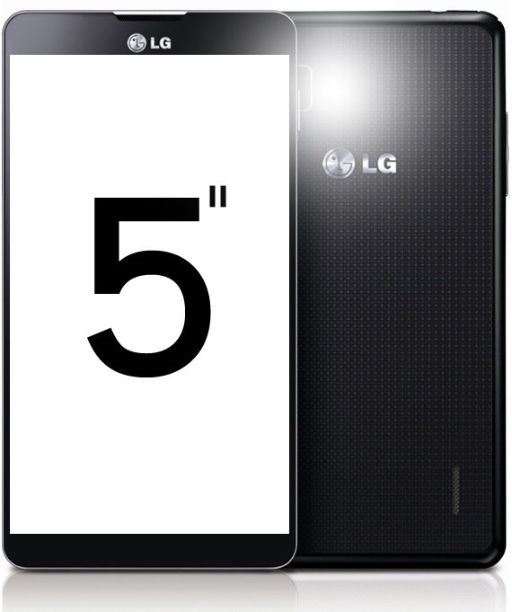 LG Optimus G Pro featuring 5-inch Full HD display