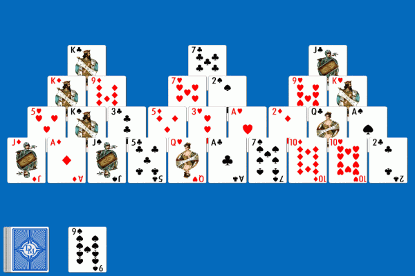 pyramid solitaire online games