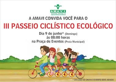 Passeio Ciclístico Ecológico