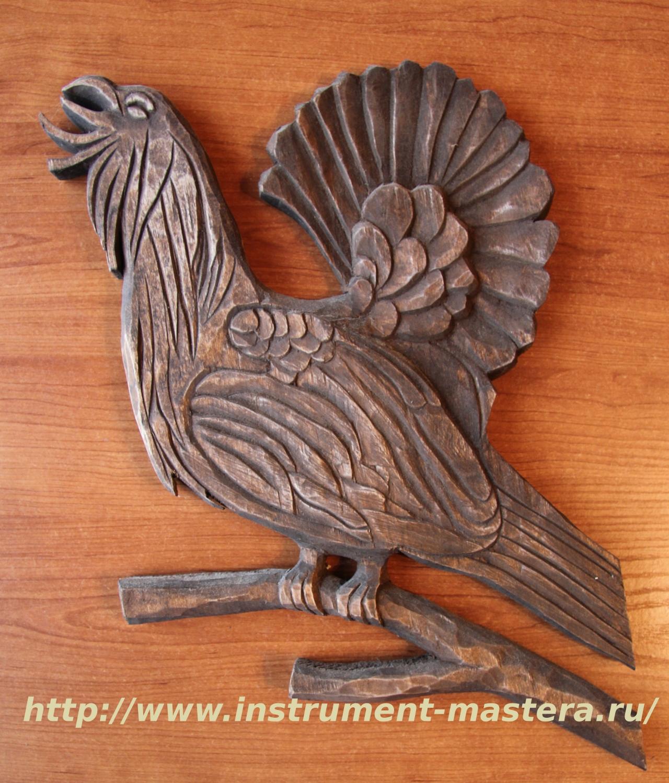 Панно деревянное резное — украшение для квартиры охотника