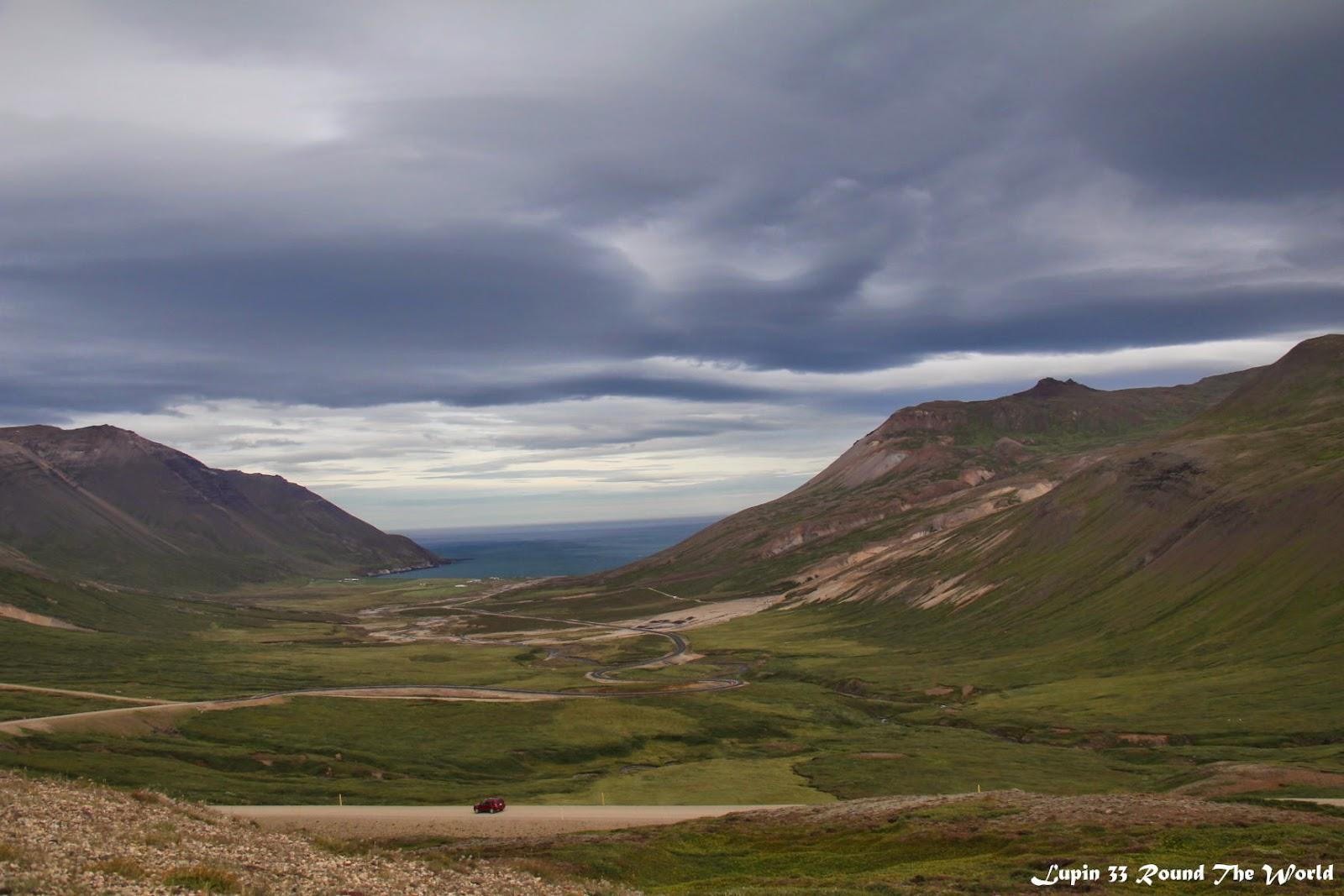冰島自助旅行遊記照片Day7崎嶇的山路