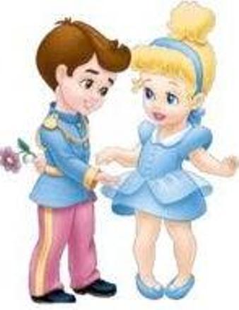 Princess and Prince Charming Cinderella