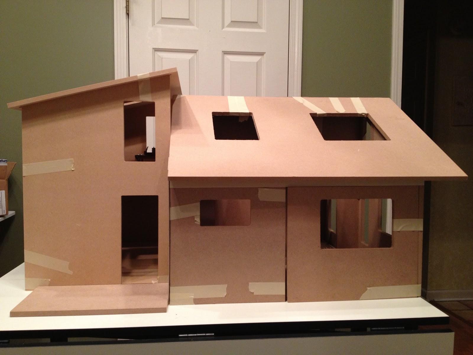 Jocelyn 39 S Mountfield Dollhouse One Modern Dollhouse Made