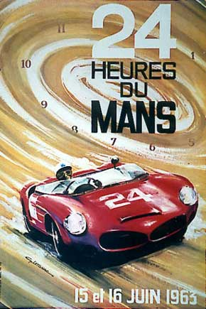 1963 Le Mans Poster