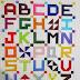 Little Letters Quilt TOP完成