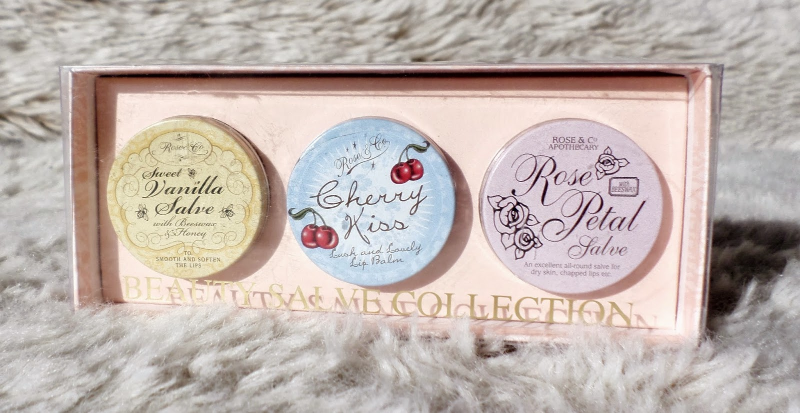 Rose & Co. Beauty Salve Collection