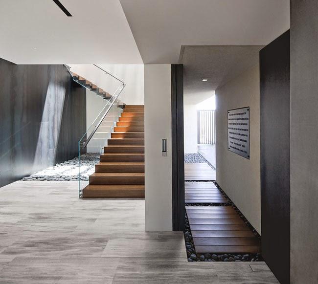 Escaleras minimalistas for Interiores minimalistas