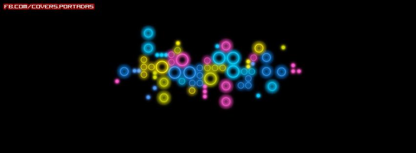 Circulos de colores portada para facebook