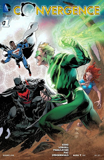 Cover of Convergence #1 from DC Comics